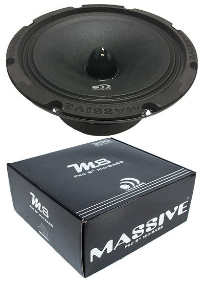 "8"" Massive Audio M8 - Mid Full Range Bullet Loud Speaker 280W"
