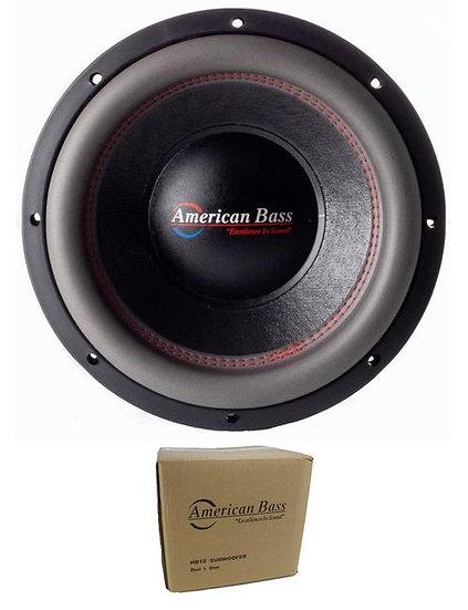 "American Bass 10"" HD Series 4000W Dual 1 Ohm Subwoofer HD-10-D1"