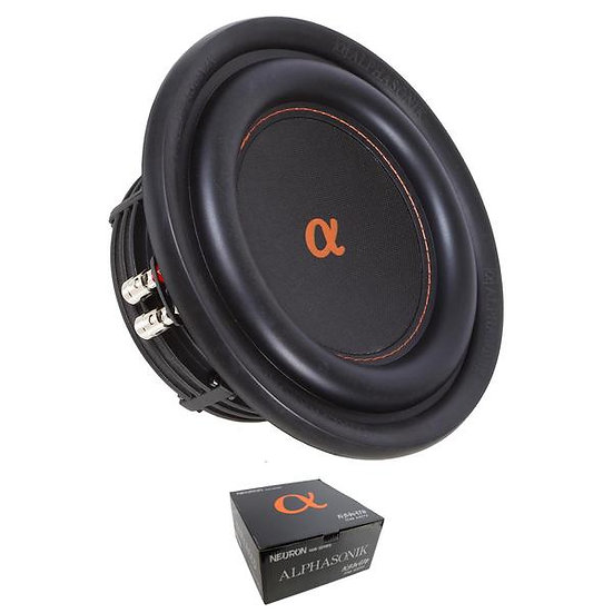 "10"" 1200W NEURON 400 Series Subwoofer Dual 4 Ohm 2"" Voice Coils NSW410"