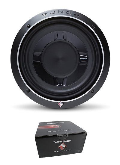 """Rockford Fosgate 10"""" Punch P3S Shallow 600W Dual 2 Ohm Subwoofer P3SD2-10"""
