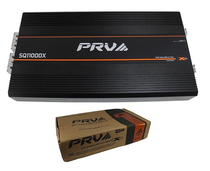 PRV Audio 11000W RMS 1 Ohm 1 Channel Full Range Class D 12v Amplifier SQ11000X