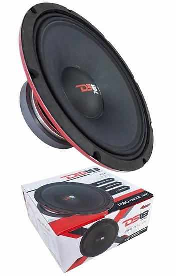 """1x DS18 12"""" Pro Audio Mid Range Loud Speaker Red 900 Watt 4 Ohm PRO-X12.4M"""