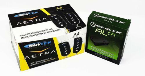 Car Remote Start With Multi Series Bypass Mod Scytek A4 ALCA Databus Combo