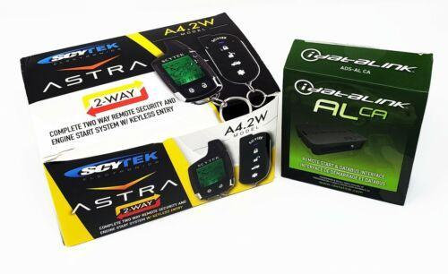 Remote Start 2 Way LCD w/ Multi Series Bypass Module Scytek A4.2w ALCA