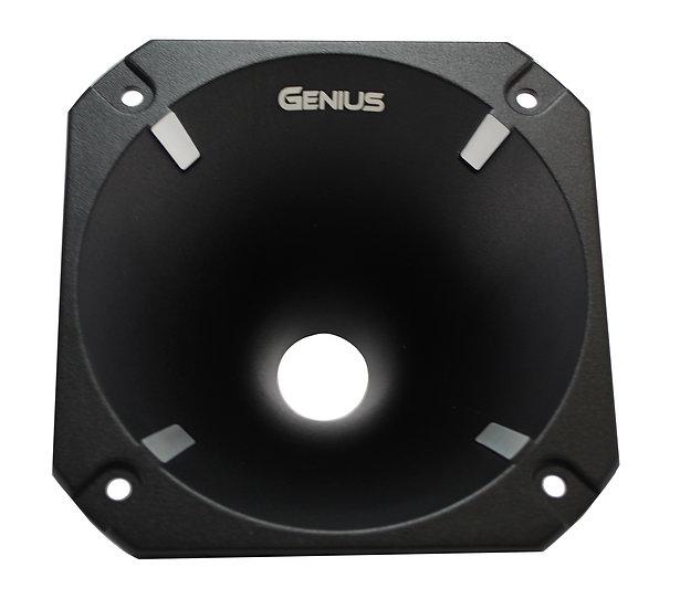 """Genius Audio GPRO-H06 1"""" Aluminum Screw On Horn Car Audio Trumpet"""