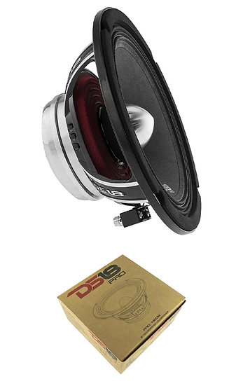 "DS18 PRO-NEO8 8"" Midrange 4 Ohm Neodymium 600W Speaker Car Audio"