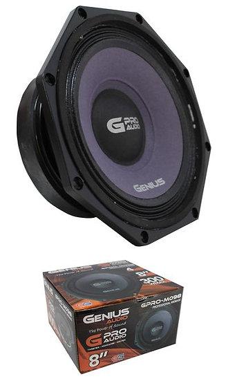 "8"" Midbass Midrange 400W 4 Ohm Pro Speaker Genius Audio GPRO-M098"