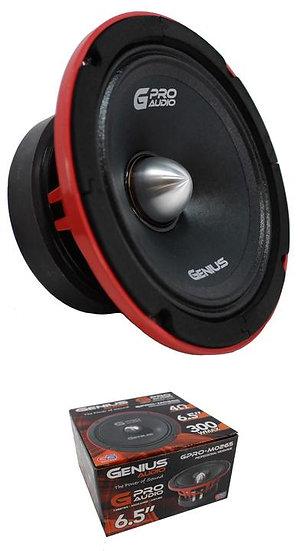 """6.5"""" Midbass 4 Ohm 300W Midrange Pro Speakers Genius Audio GPRO-M0265"""