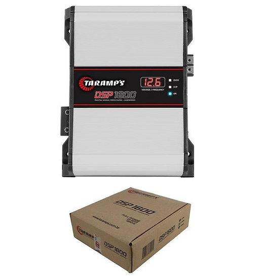 Taramp's DSP-1600 2 Ohm 1 Ch 1600W Class D Amplifier w/ Built in DSP