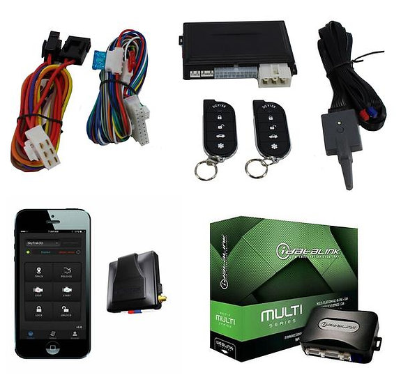 Remote Start w/ Multi Series Bypass Mod + GPS Tracker Scytek A1 AL-CA G3
