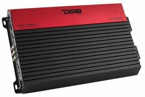 1050W Max 4-Channel Class AB Stereo Car Audio Amplifier DS18 SLC-X1050.4