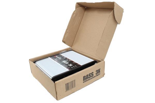 Open Box - Taramps BASS3K 1 Channel 3000W 1 Ohm Amplifier Class D Car Audio
