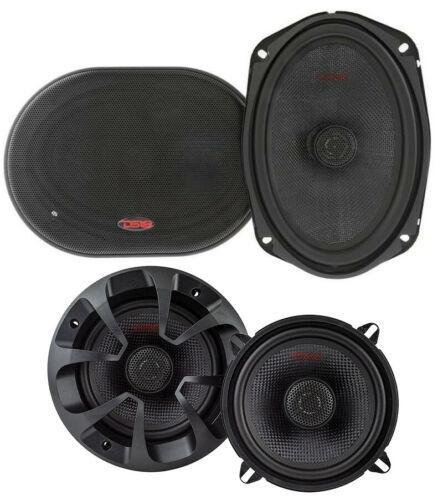 """DS18 Z 6x9"""" + 5.25"""" Car Audio Door Speakers Combo 780 Watts 4 Ohm Coaxial"""