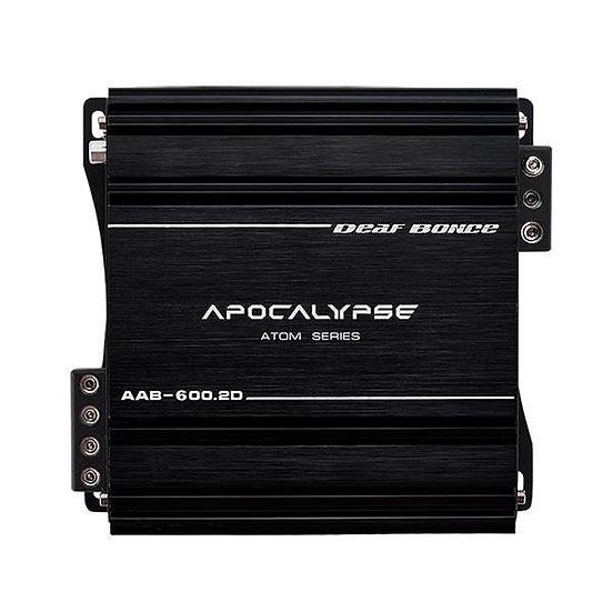 Deaf Bonce AAB-600.2D Apocalypse 2 Channel Class D 600 Watt Amplifier