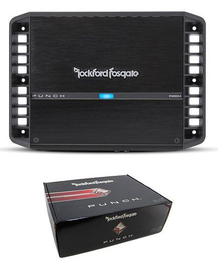 Rockford Fosgate Punch 400 Watt 4-Channel Amplifier P400X4