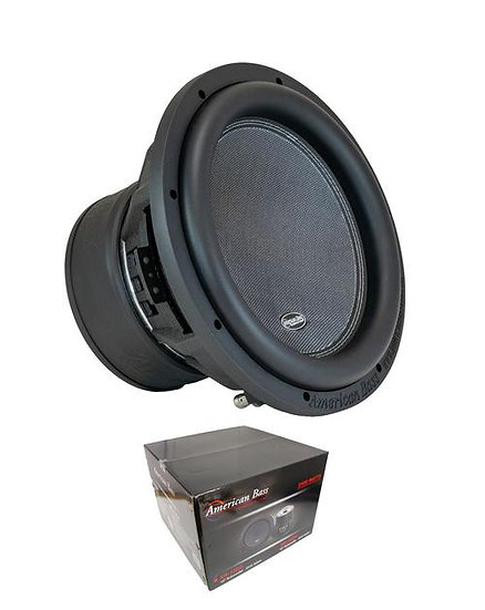 "American Bass 12"" Dual 2 Ohm Voice Coil 2400 Watts Subwoofer XR-12D2"