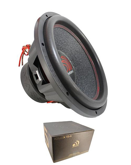 "Massive Audio KILOX154 15"" 2000 Watt Dual 4 Ohm Subwoofer"