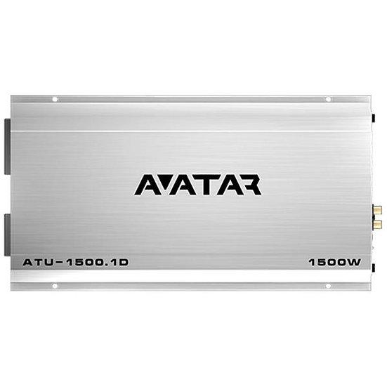 Avatar ATU-1500.1D Monoblock Class D 1500 Watt Amplifier Tsunami Series