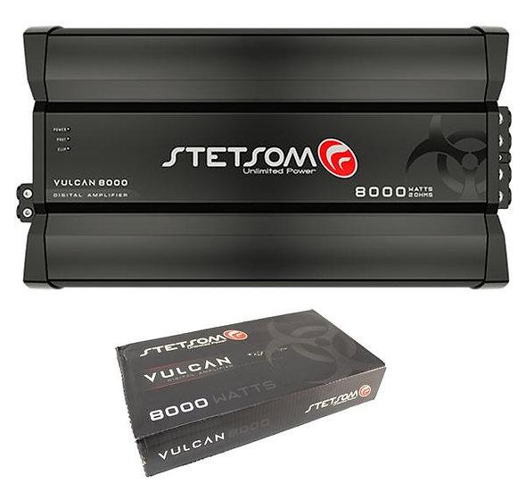 Stetsom Vulcan Series 8000W 1 Ohm Class D Full Range Mono Amplifier VULCAN8000