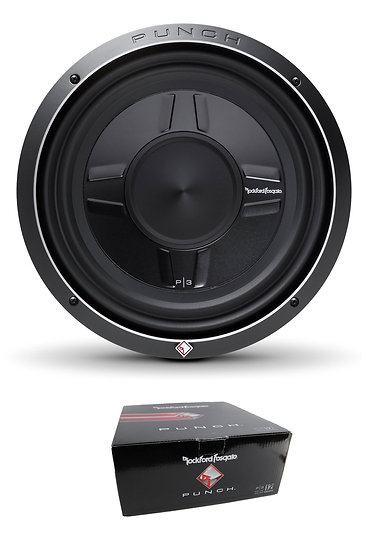 "Rockford Fosgate 12"" PS3 Shallow 800W Dual 2 Ohm Subwoofer P3SD2-12"
