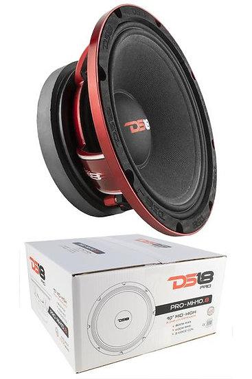 DS18 10″ 800W Mid High Loudspeaker Pro Car Audio 8 Ohm PRO-MH10.8