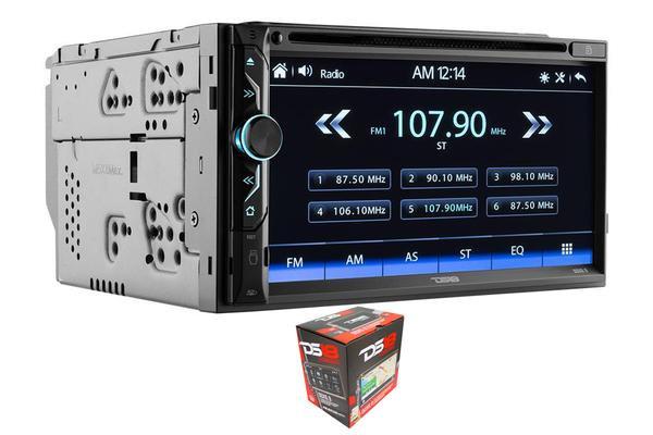 """DS18 6.9"""" Double Din Bluetooth Touchscreen AUX/USB/SD/AM/FM Head Unit DDX6.9"""