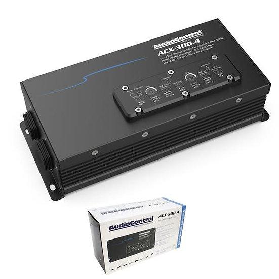 AudioControl 4 Channel 300 Watt Marine and Powersports All Weather Amplifier