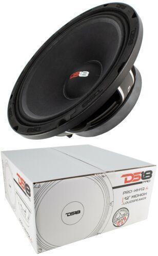 1x DS18 12″ 1200W Mid High Loud speaker Pro Car Audio 4 Ohm Mid Bass