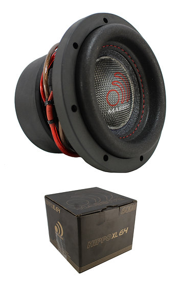 "6"" 600W Bass Subwoofer Dual 4 Ohm Pro Car Audio Massive HIPPOXL64"