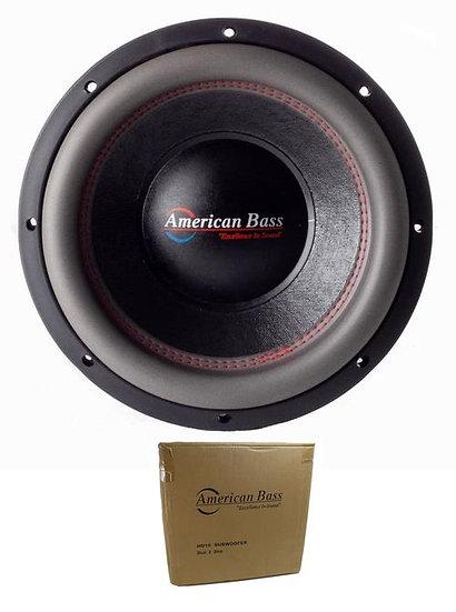 "American Bass 10"" HD Series 4000W Dual 2 Ohm Subwoofer HD-10-D2"