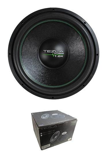 "Tezla Audio 15"" 1.0K Series 1500W Dual 4 Ohm High Performance Sub TZV1-15D41.0K3"