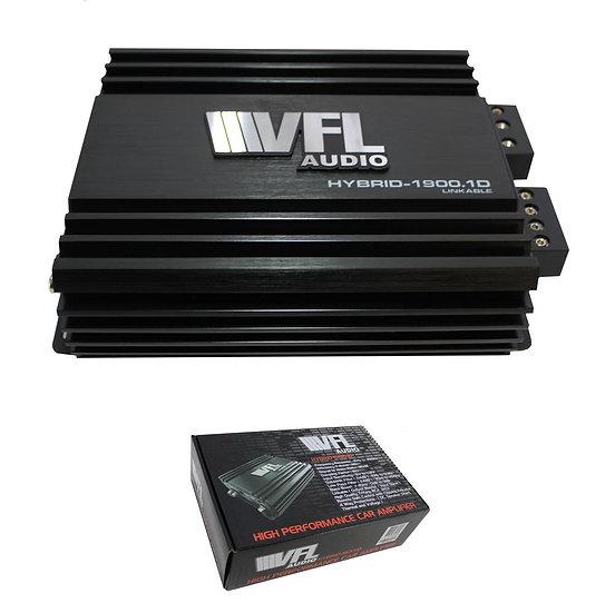 American Bass Hybrid Amplifier Linkable 1900 Watts Class D VFL HYBRID-1900.1D