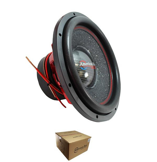 "American Bass Competition 15"" 3000 Watt Dual 4 Ohm Subwoofer Hawk 1544"