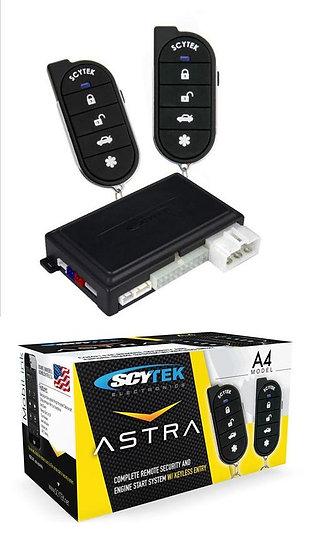 Scytek Astra A4 Complete Security and Remote Engine Starter System