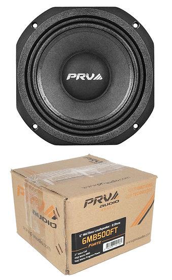 "6"" PRV Mid Bass Loud Speaker 1000W 8 ohm Pro Car Audio 6MB500FT"