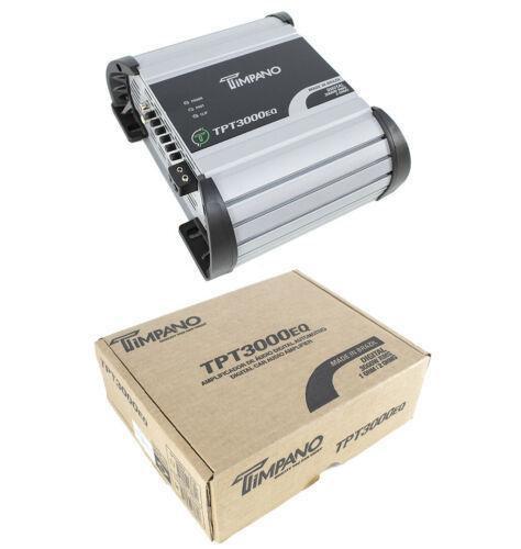 3600W 1Ch Mini Digital Bass Amplifier 2 ohm Car Audio Amp Timpano TPT3000EQ