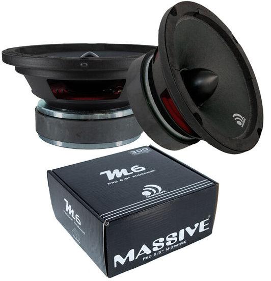 """6.5"""" Massive Audio M6 - Mid Full Range Bullet Loud Speaker 300W"""