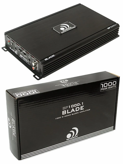 Massive Audio Amplifier Blade BP1000.1 2 Channel Mono block 2 Ohm