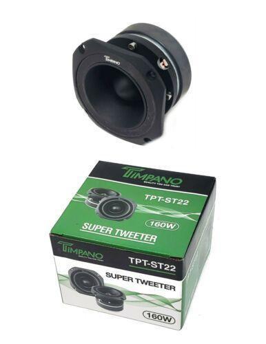 "Timpano TPT-ST22B 160 Watt 1.75"" Inch 8 Ohm Titanium Super Bullet Horn Tweeter"