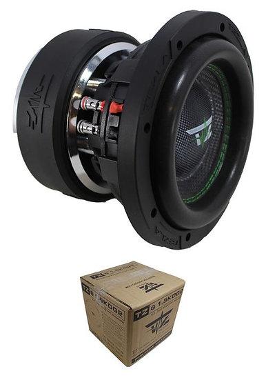 "Tezla Audio 6.5"" 900W Dual 2 Ohm High Performance Car Subwoofer TZ61.5KD2G2"