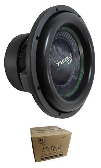 """Tezla Audio 12"""" Series 1.5K 2000W Dual 2 Ohm Subwoofer TZV1-12D21.5K"""