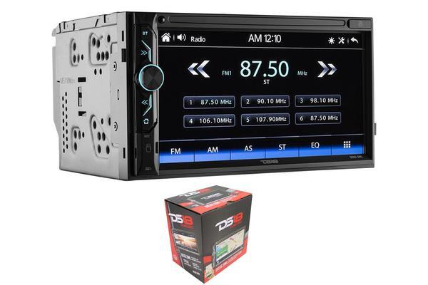 """DS18 6.9"""" Double Din Bluetooth Touchscreen AUX/USB/SD/AM/FM Head Unit DDX6.9ML"""