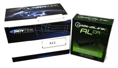 1 Button Complete Remote Start w/ Multi Series Bypass Module Scytek A1.1 ALCA