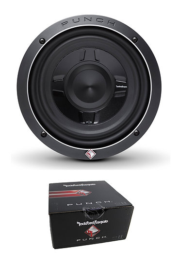 "Rockford Fosgate 8"" Punch P3S Shallow 300W Dual 2 Ohm Subwoofer P3SD2-8"