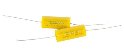 2x DS18 Universal Capacitor Bass Blocker 4.7 Works With All Horns 475J