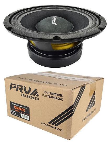 "10"" Mid Bass Loudspeaker Pro Car Audio 400 Watts 8 Ohm PRV 10MB400"