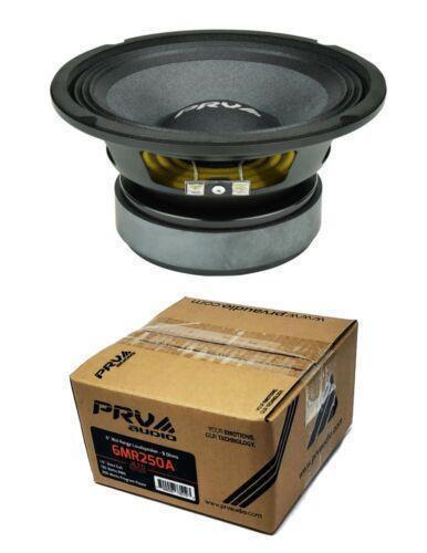 """PRV Audio 6MR250A Mid range 6"""" Pro Audio Loud Speaker 8 Ohm 250 Watts"""