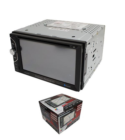 """Power Acoustik 2 DIN Multimedia Receiver 6.2"""" LCD w/ Bluetooth, DVD, CD, and MP3"""