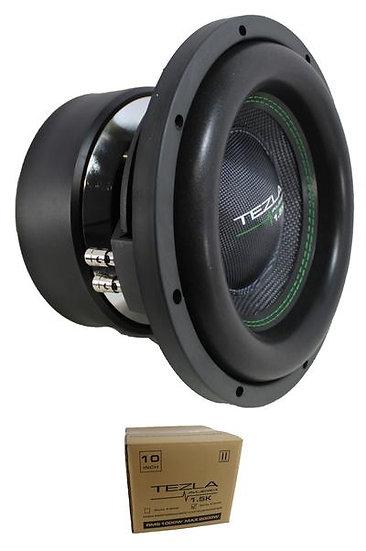 """Tezla Audio 10"""" 1.5K Series 2000W Dual 2 Ohm Subwoofer TZV1-10D21.5K"""