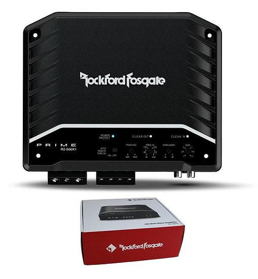 Rockford Fosgate Prime 500W RMS x 1 at 2 Ohm Mono Subwoofer Amplifier R2-500X1